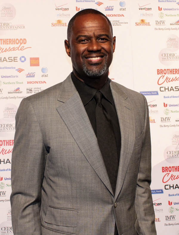 The one and only Brian McKnight...