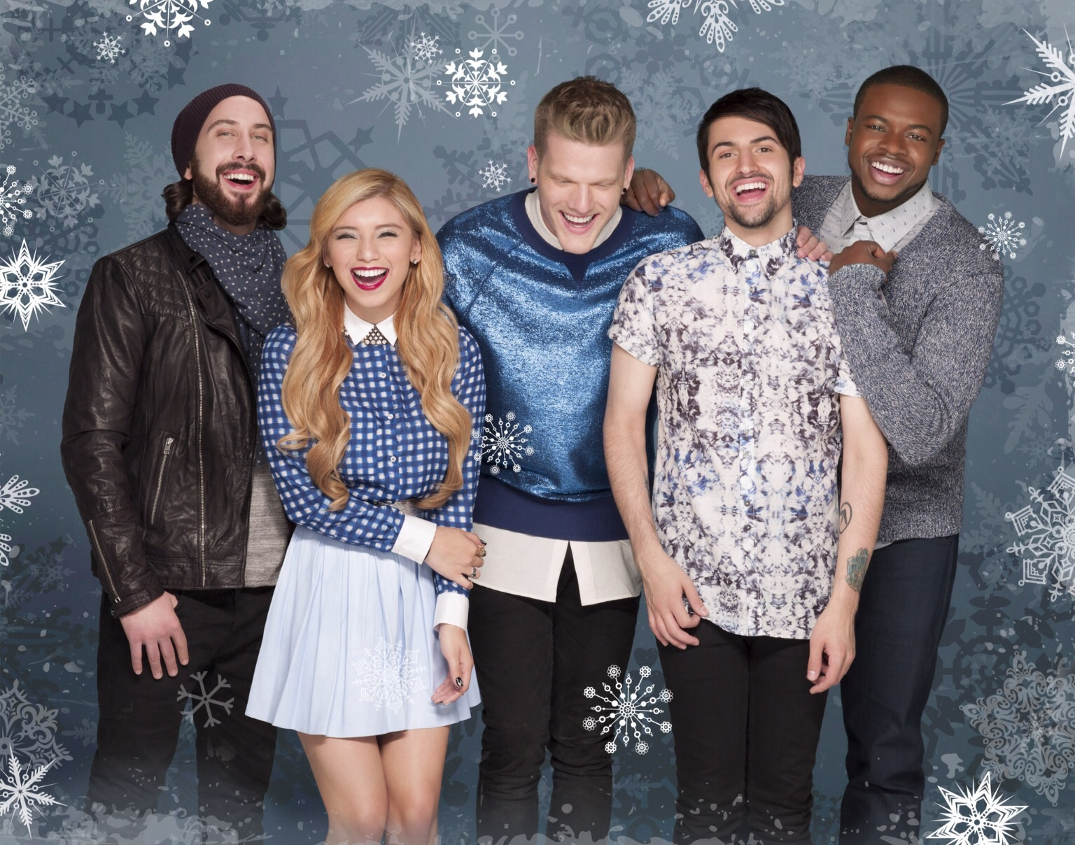 """Pentatonix released holiday album """"That's Christmas to me"""" in late 2014 .  The album was certified platinum by Christmas Eve."""