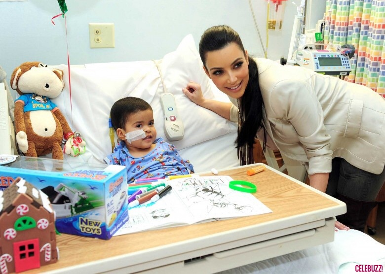 Kim Kardashian made Variety's Power of Women issue for her Children's Hospital Los Angeles visits