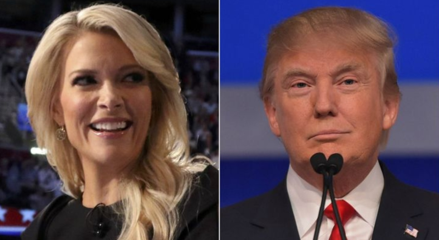Trump repeatedly blasted Kelly after facing pointed questioning from her during last week's presidential debate