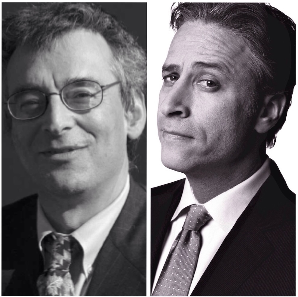 Clifford Goldstein and Jon Stewart... The future of the Sabbath School quarterly rests on their shoulders...