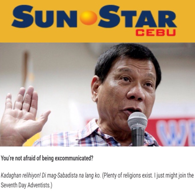click on the pic for the Sun Star's interview...