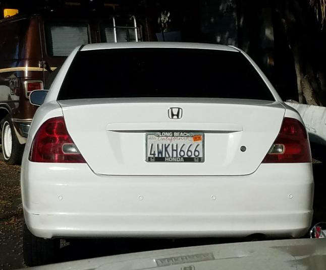 Unfortunate plates.