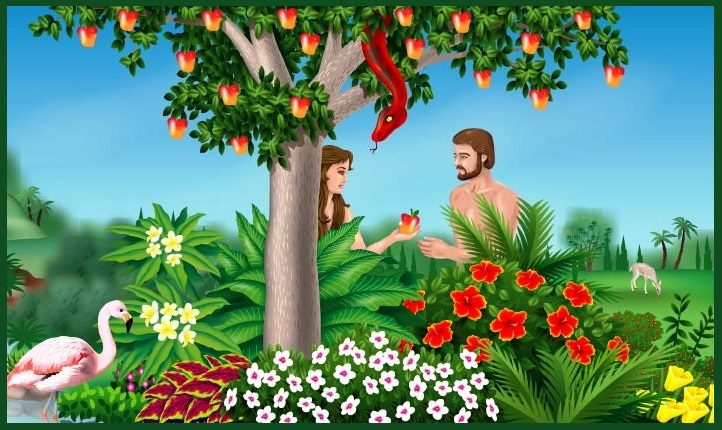 Larger foliage to cover all Adventist Adam & Eve art