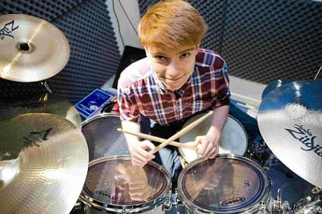 Rebellious Adventist Teen Claims Drums Solve Everything