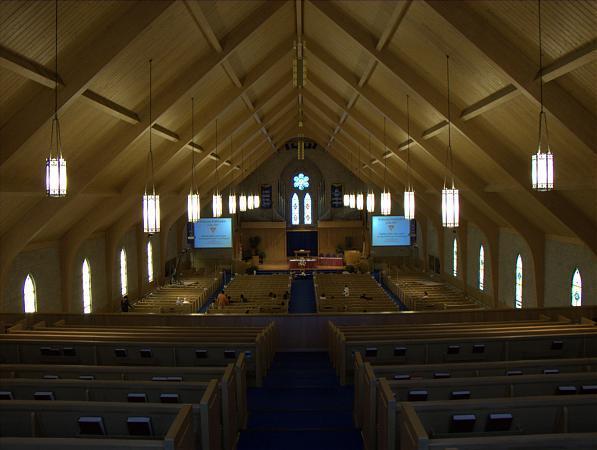 Trapdoor disposes of visiting Pioneer Memorial Church speaker