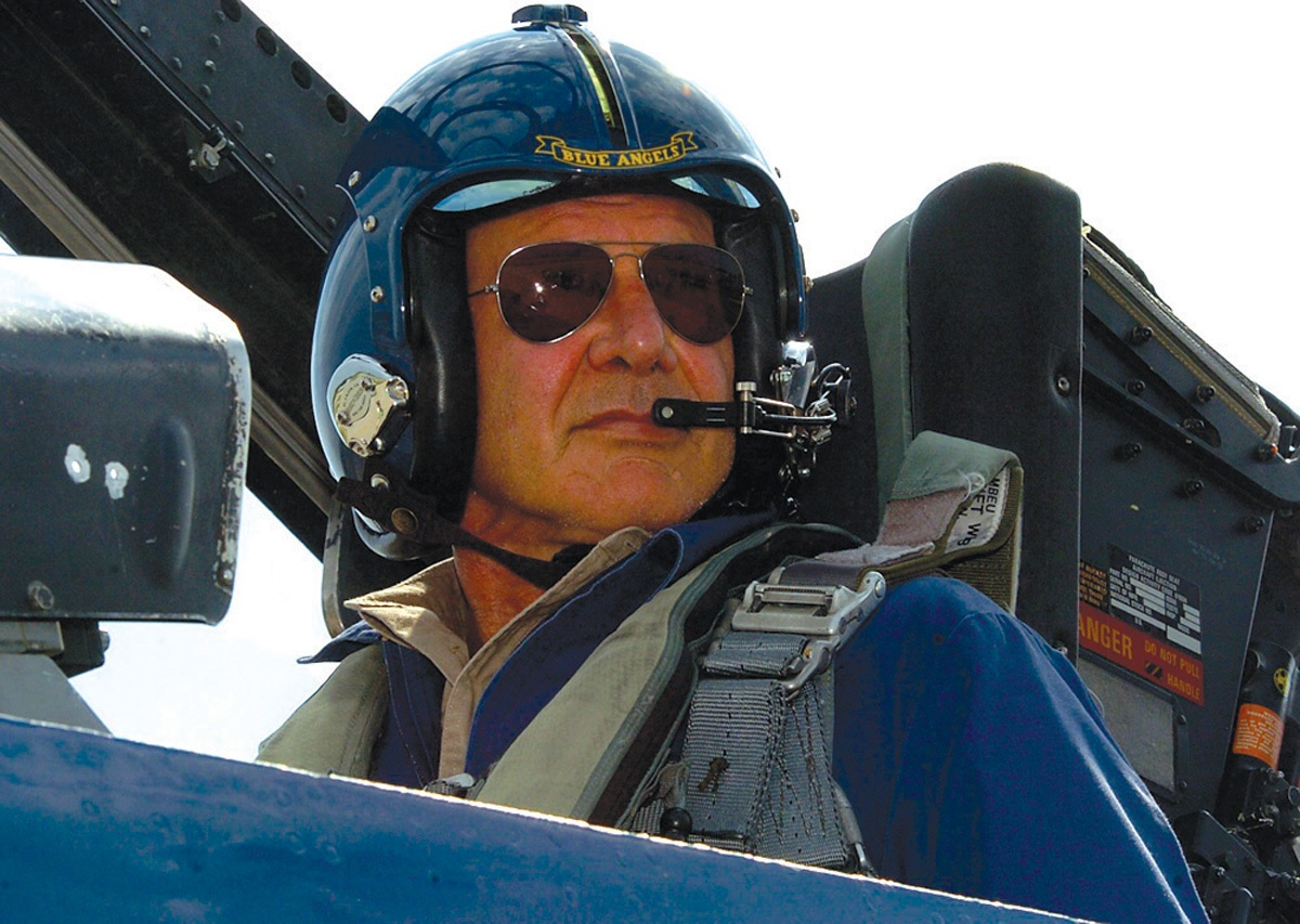 Harrison Ford joins Aviation faculty at Pacific Union College