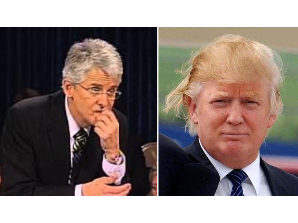 """Dwight Nelson calls Donald Trump's hair/presidential announcement """"sign of the times"""""""