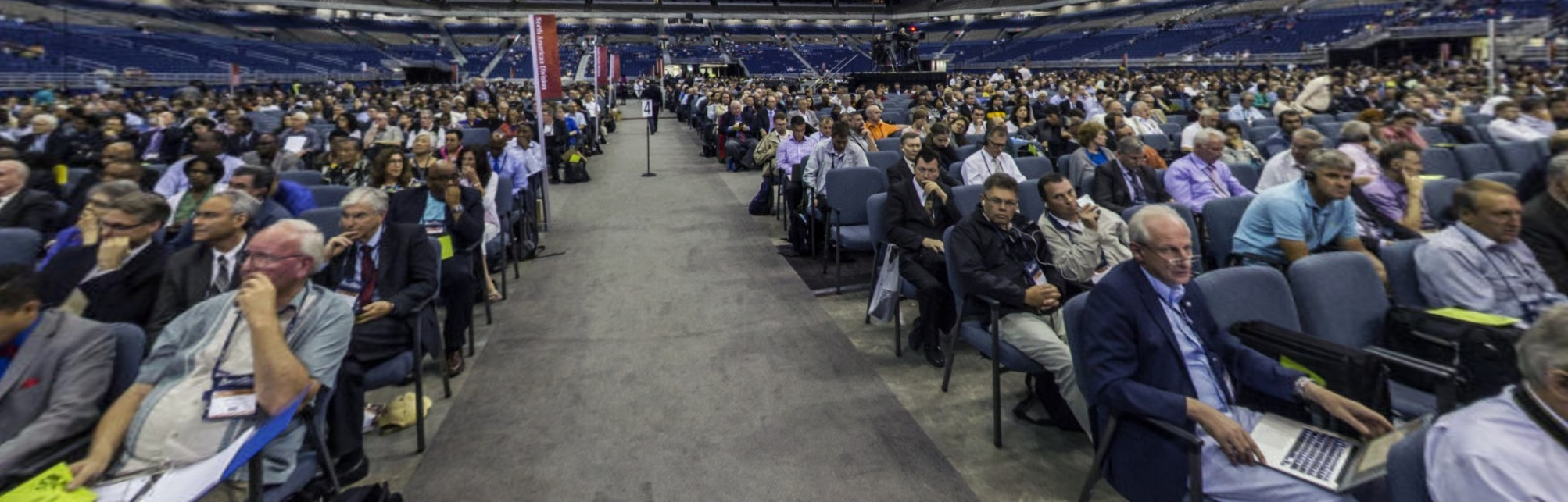 Alamodome on lockdown following women's ordination vote until both sides hug it out