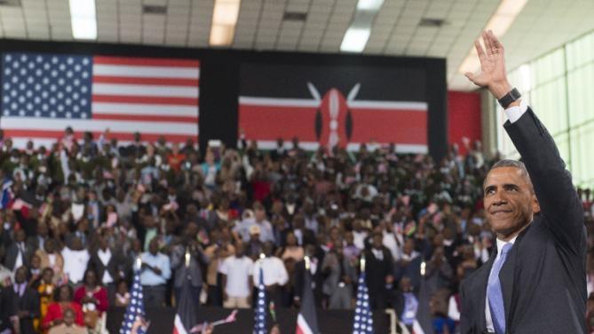 Obama to repeat anti-women's oppression speech to GC upon return to America
