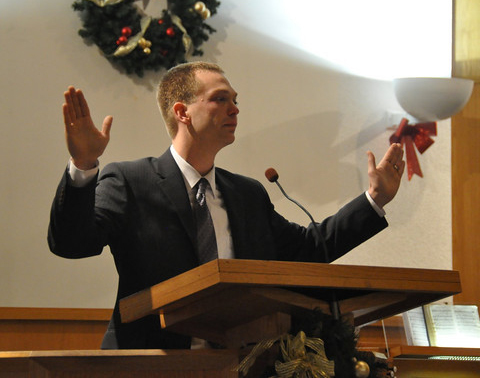 """Adventist pastor fired for """"may the force be with you"""" benediction"""