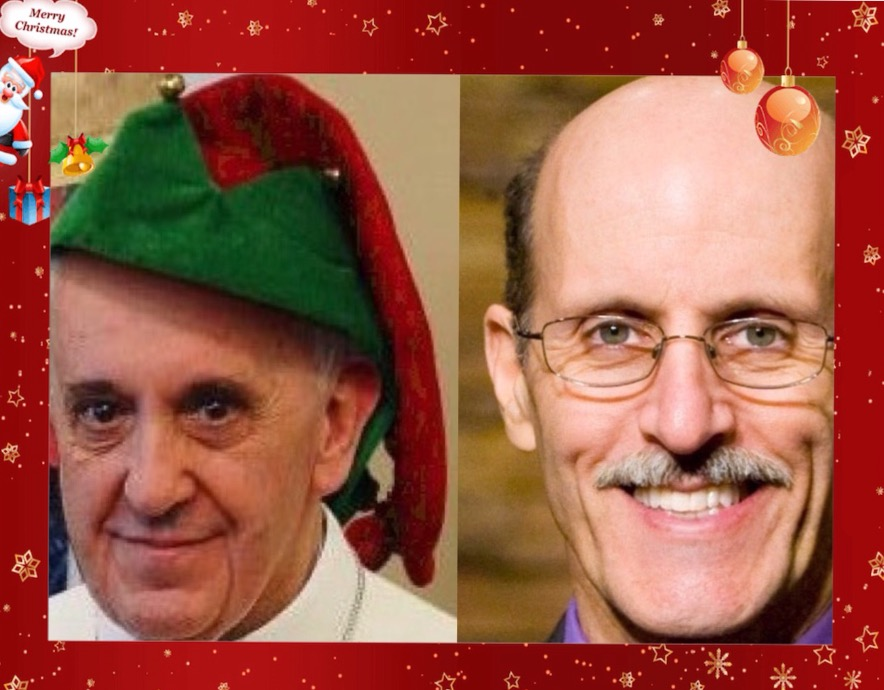 "Pope sends Doug Batchelor a Christmas card saying ""all is forgiven"""