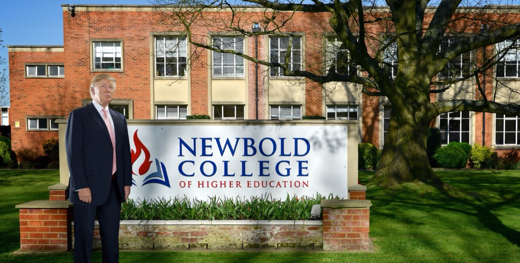 """Trump cheers """"terrific"""" Brexit, wants to invest in Newbold College"""