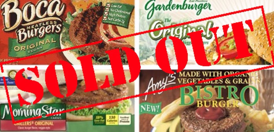 Loma Linda supermarkets sell out of veggie burgers, start selling cardboard