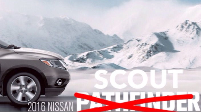 Nissan Pathfinder becomes Nissan Scout after legal battle with Adventist Pathfinder Club