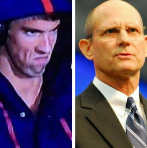 Michael Phelps thanks Ted Wilson for death stare coaching
