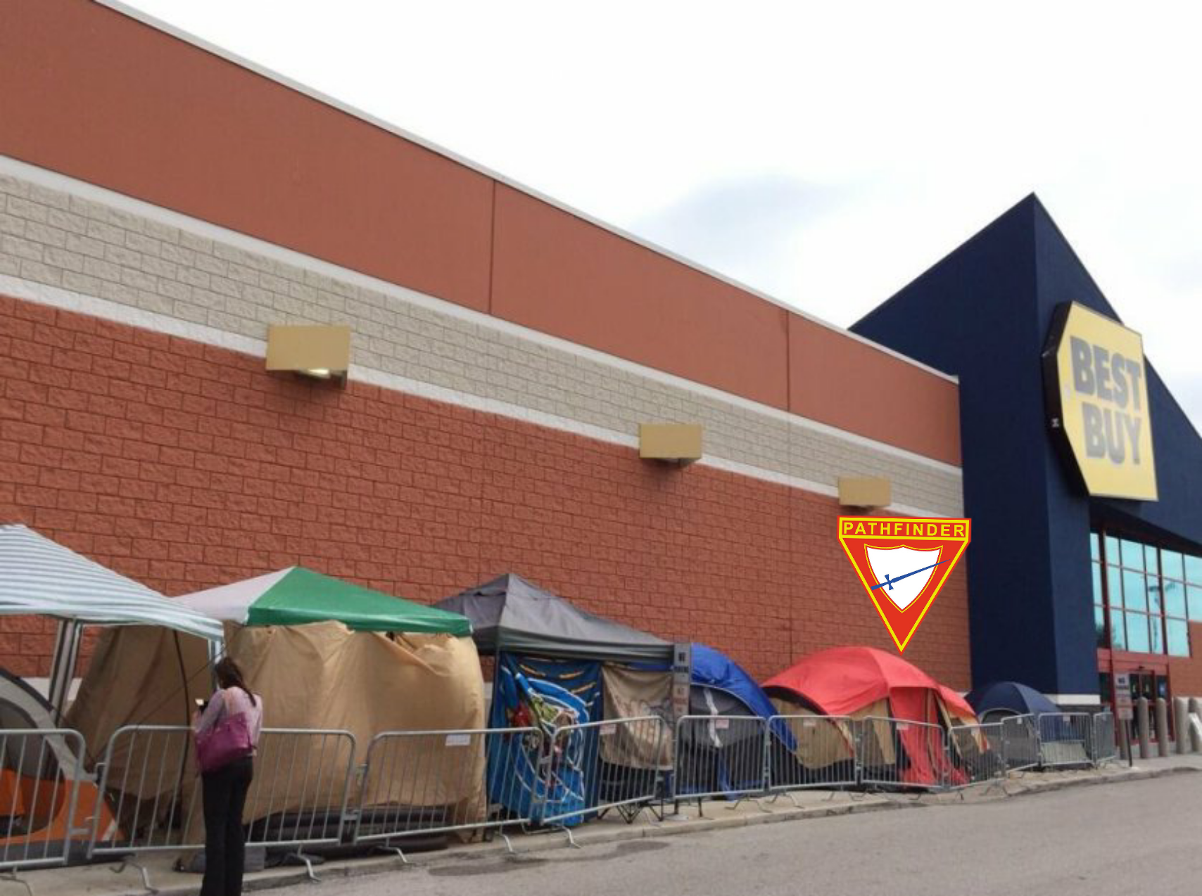 Pathfinders dominate Black Friday campouts across US