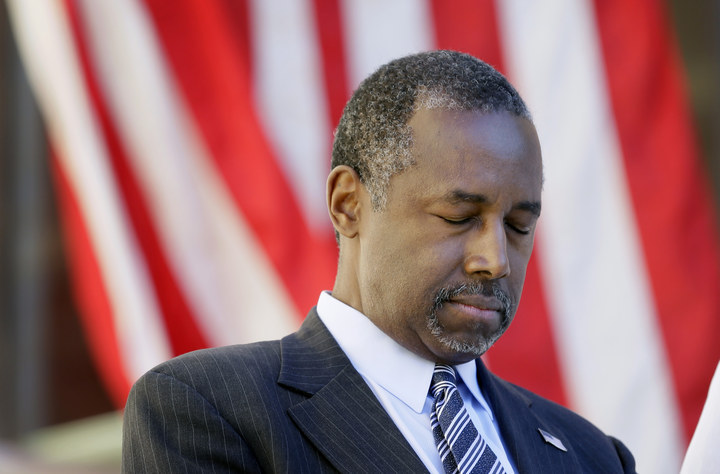 In dramatic U-turn Carson accepts role as US Secretary of Energy