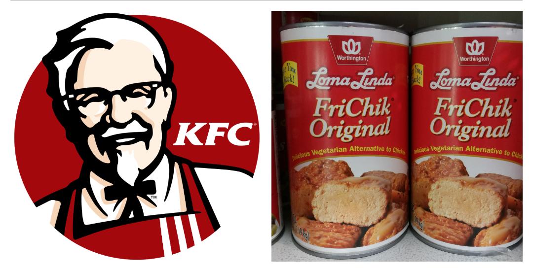 KFC trades chicken for FriChik
