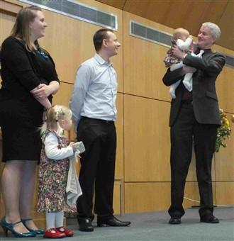 Pastor deaf in one ear after botched baby dedication
