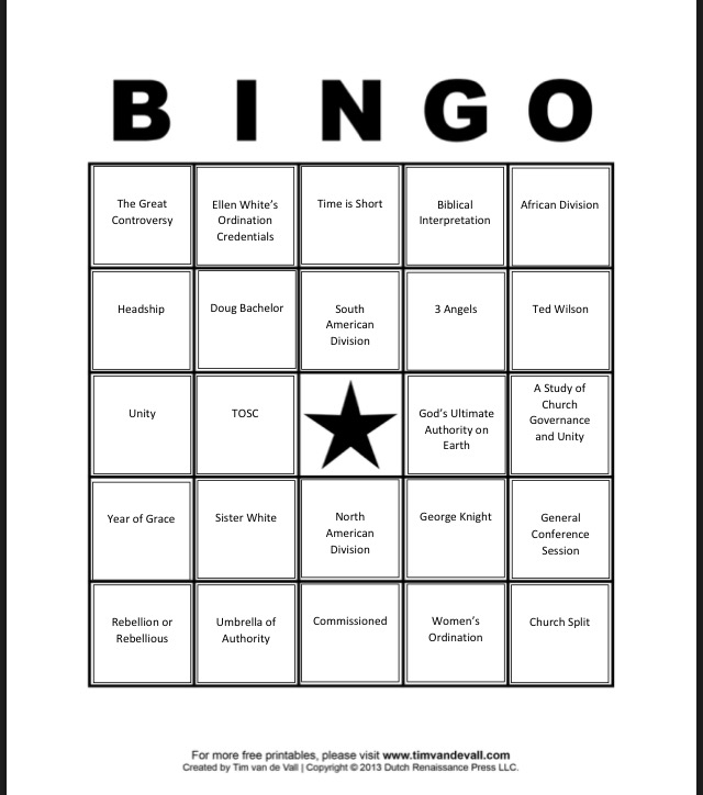 Annual Council Bingo to animate GC meetings