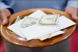 Indulgences line added to tithe envelopes