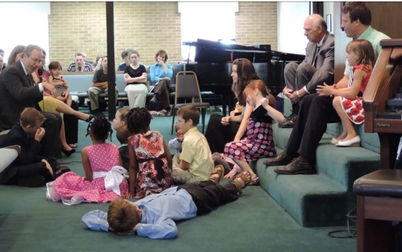"""Report: Answer to 99% of Children's Story questions is """"Jesus"""""""