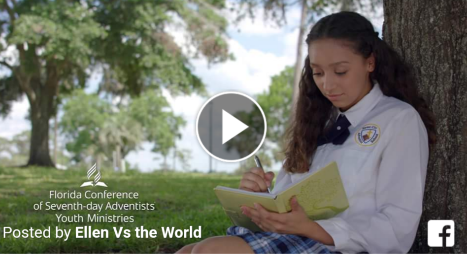 "Check out the trailer for ""Ellen vs the World,"" an Adventist comedy web series"