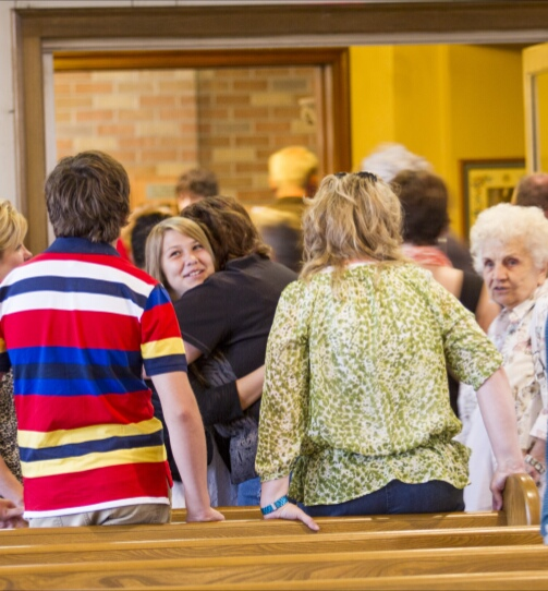 Deacons to Drive Out After-Church Socializers With Whips