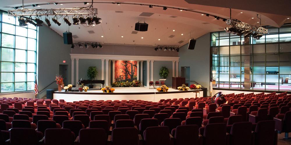 GC Auditorium Transformed Into State-Of-The-Art Echo Chamber